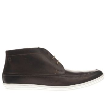 Base London Dark Brown Gig Chukka Boots