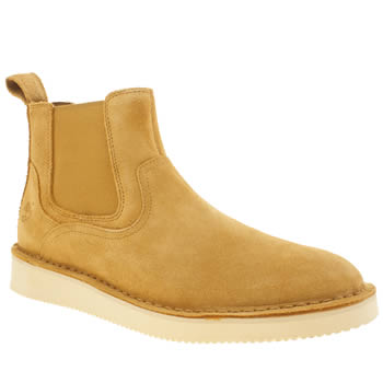 Mens Timberland Natural Publish Chelsea Boots