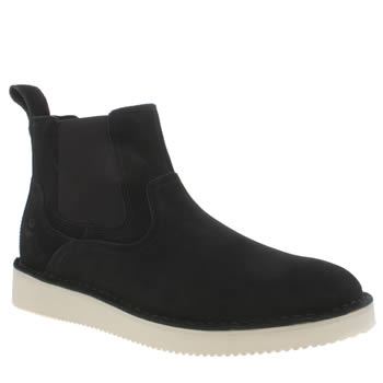 Mens Timberland Black Publish Chelsea Boots