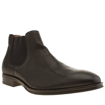 Mens Red Or Dead Black Mr Mitty Chelsea Boots