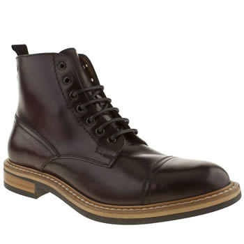Red Or Dead Burgundy Mr Renton Cap Boot Boots