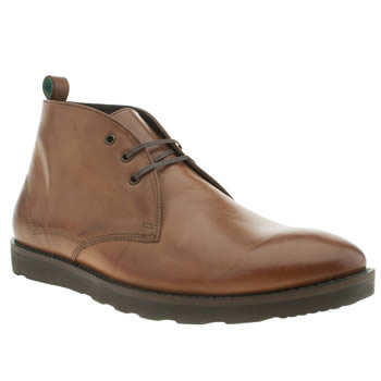 Mens Red Or Dead Tan Mr Finlay Chukka Boots