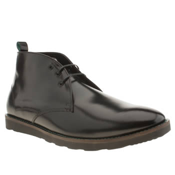 Mens Red Or Dead Black Mr Finlay Chukka Boots