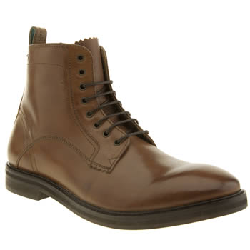 Mens Red Or Dead Tan Mr Brearly 6 Inch Boots