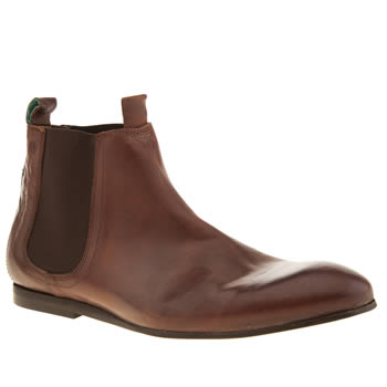 Mens Red Or Dead Tan Mr Wilks Chelsea Boots