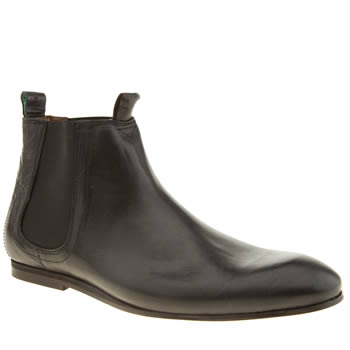 Mens Red Or Dead Black Mr Wilks Chelsea Boots