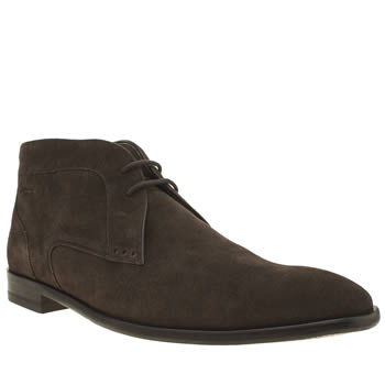 Oliver Sweeney Dark Brown Temes Chukka Boots