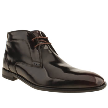 mens oliver sweeney burgundy temes chukka boots