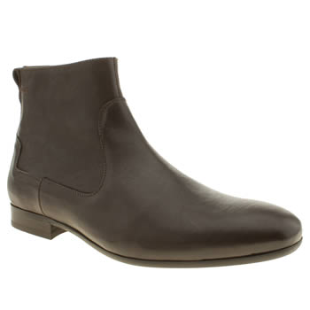 H By Hudson Brown Rene Inside Zip Boots