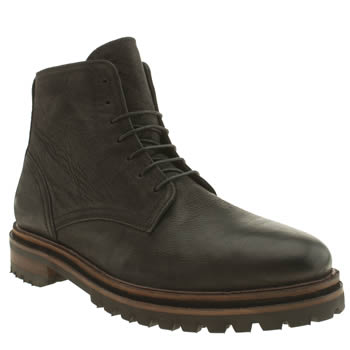 Mens H By Hudson Black Hawnby Boot Boots