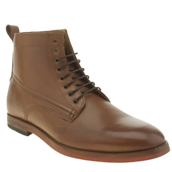 Mens H By Hudson Brown Hallam Lace Boots
