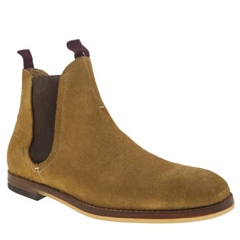 H BY HUDSON NATURAL HALLAM CHELSEA BOOTS
