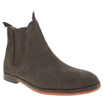 H By Hudson Brown Hallam Chelsea Mens Boots