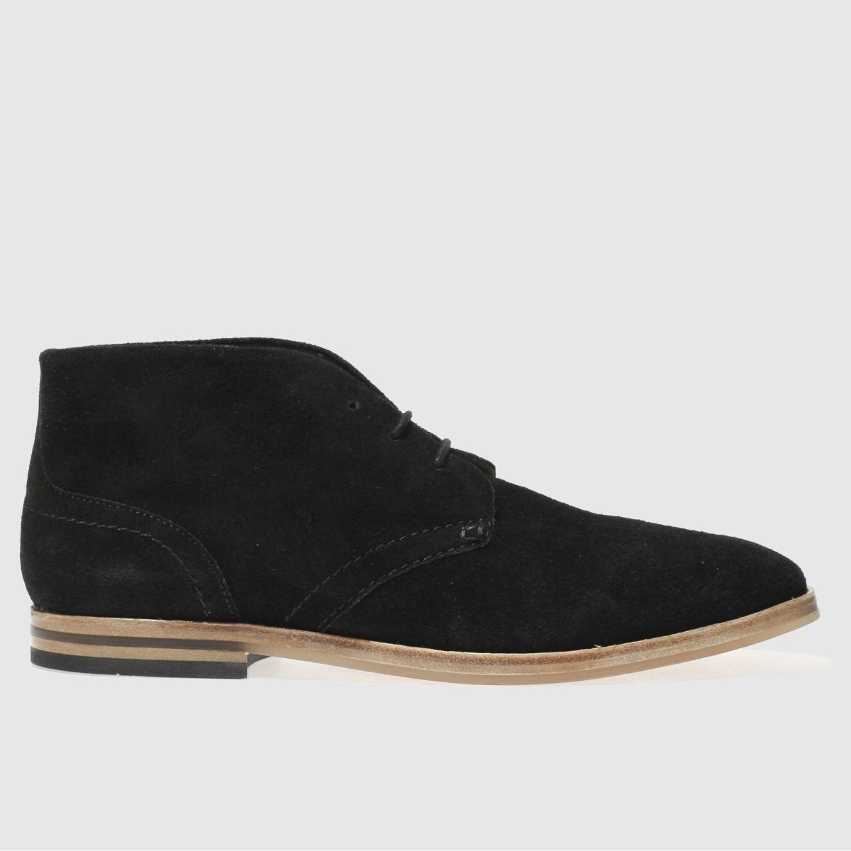 h by hudson black hallam chukka 3 boots