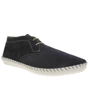 H By Hudson Navy Corsica Mid Boots