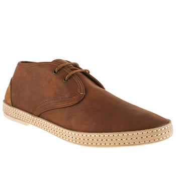 mens h by hudson tan keelson wrap chukka boots