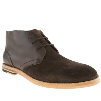 H By Hudson Brown Hallam Chukka Boots