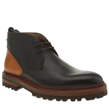 Oliver Sweeney Black & Brown Boucher Boots