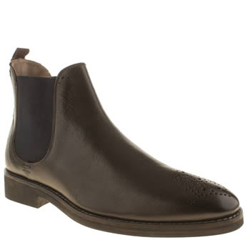 Oliver Sweeney Dark Brown Sweeney London Burrows Boots