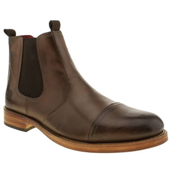 Base London Brown Mersey Boots