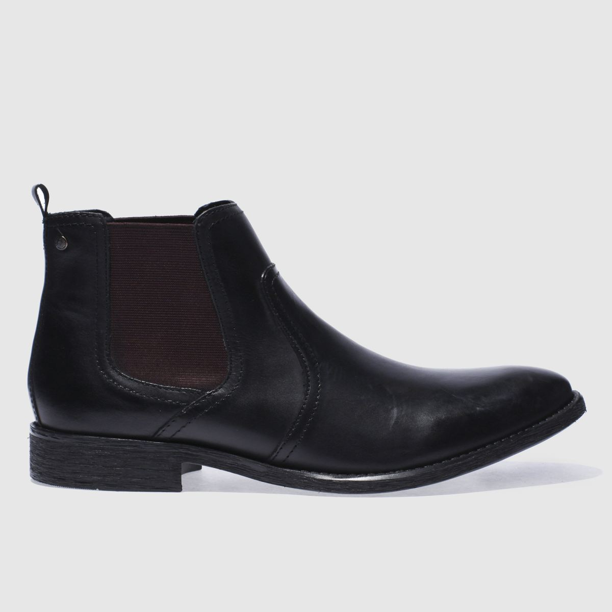 Base London Black Engine Chelsea Boots