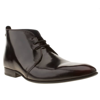 mens base london burgundy nuptials derby boots