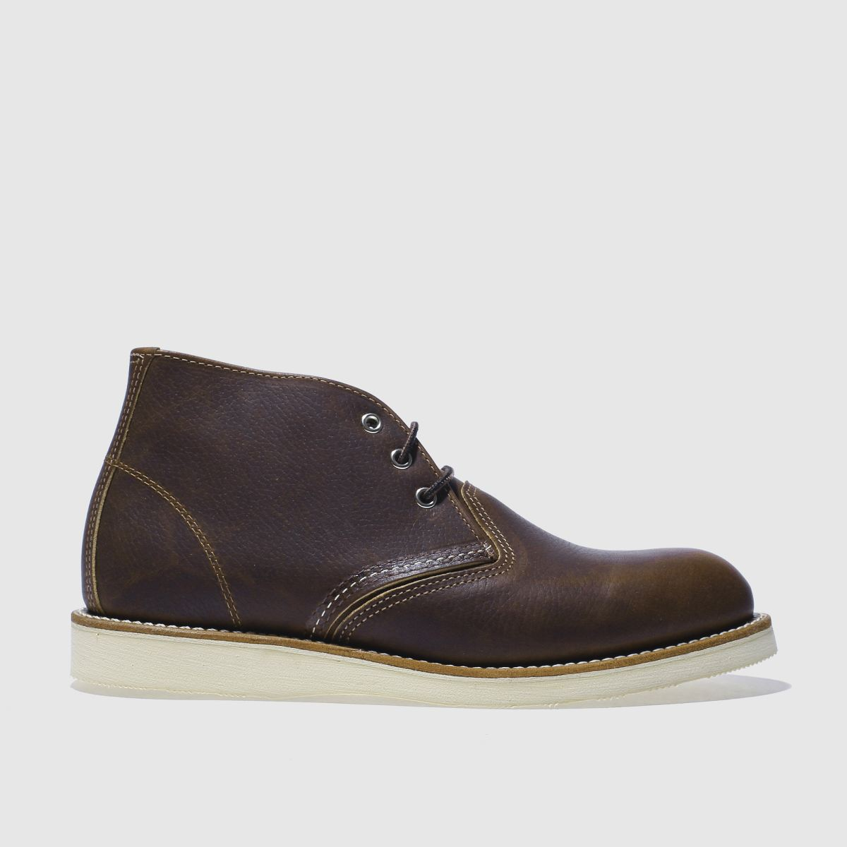 red wing dark brown 3 tie chukka boot boots