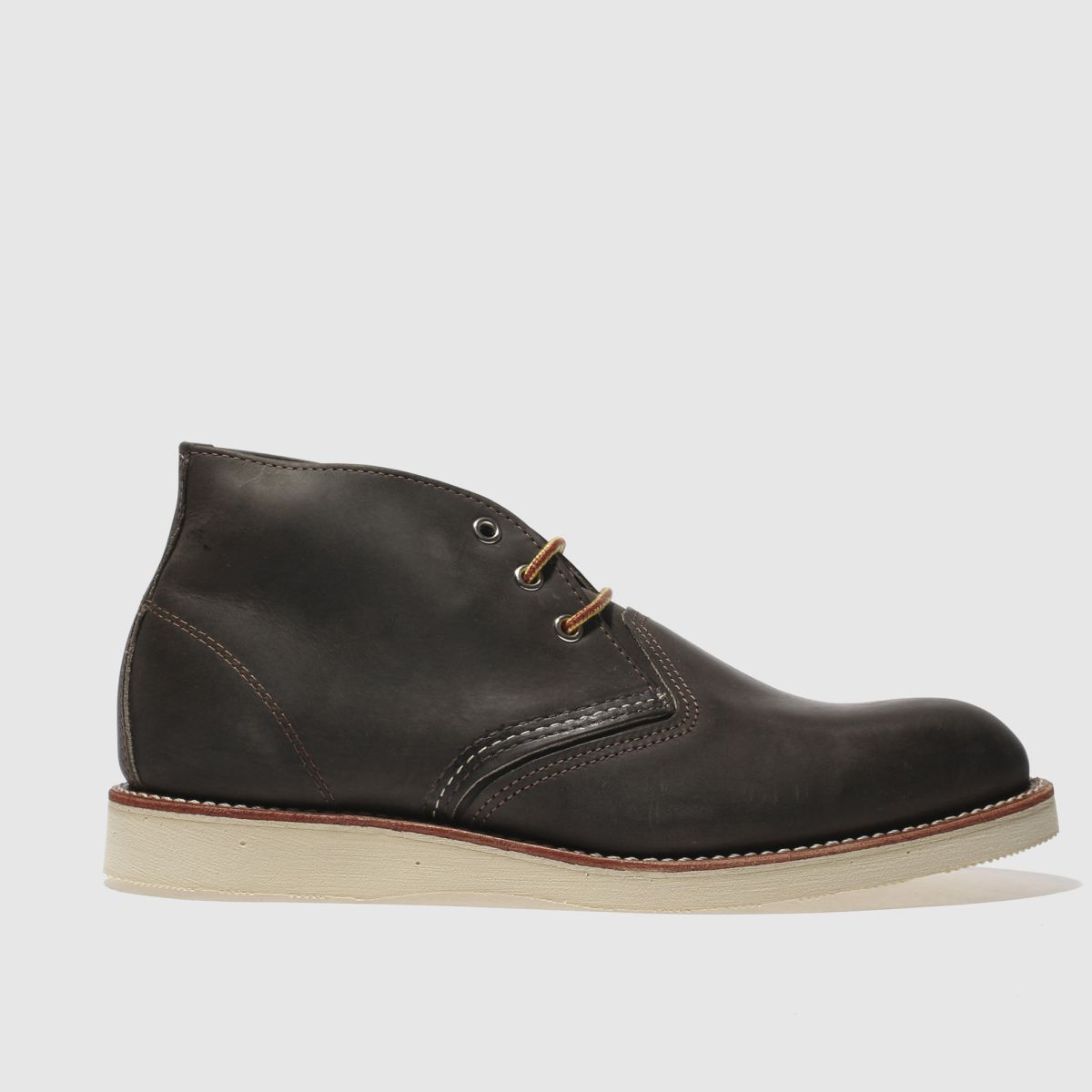 red wing charcoal 3 tie chukka boots