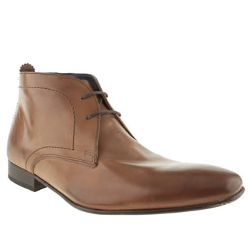 Ikon Brown Sickle Chukka Boots