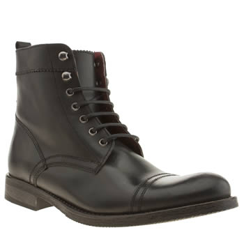 Ikon Black Officer Cap Boots
