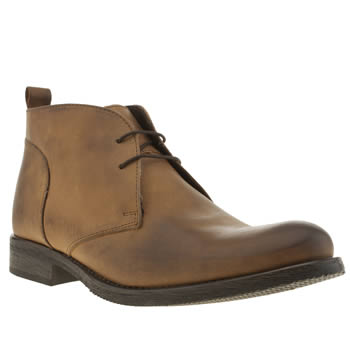 Ikon Brown Officer Chukka Boots