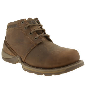 mens caterpillar brown harding boots