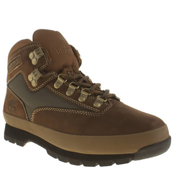 Mens Timberland Brown Timb Eurohiker Sc Boots