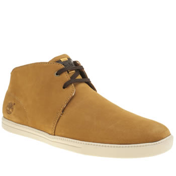 Mens Timberland Natural Fulk Low Profile Mid Boots