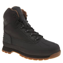 Timberland Black Euro Hiker Shell Toe Mens Boots