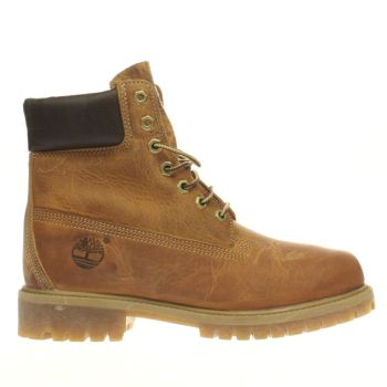 Timberland Brown Heritage 6 Inch Premium Mens Boots