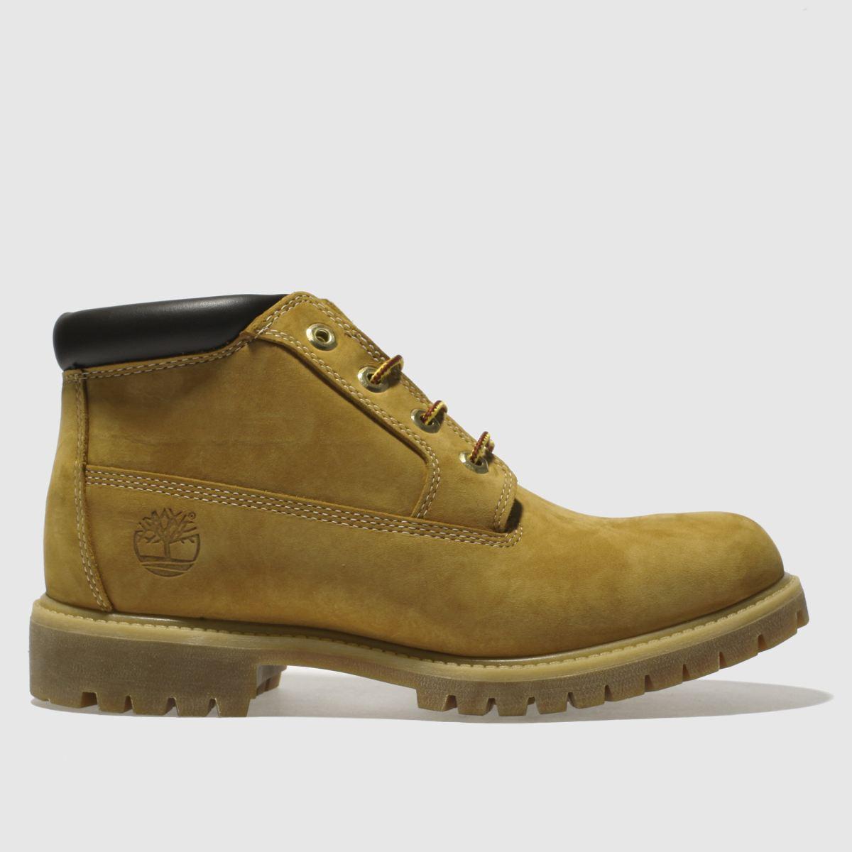 timberland natural premium waterproof chukka boots
