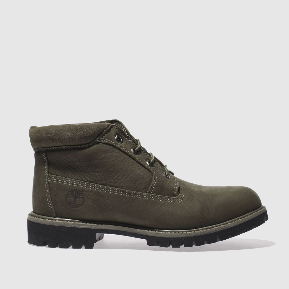 timberland khaki waterproof chukka boots