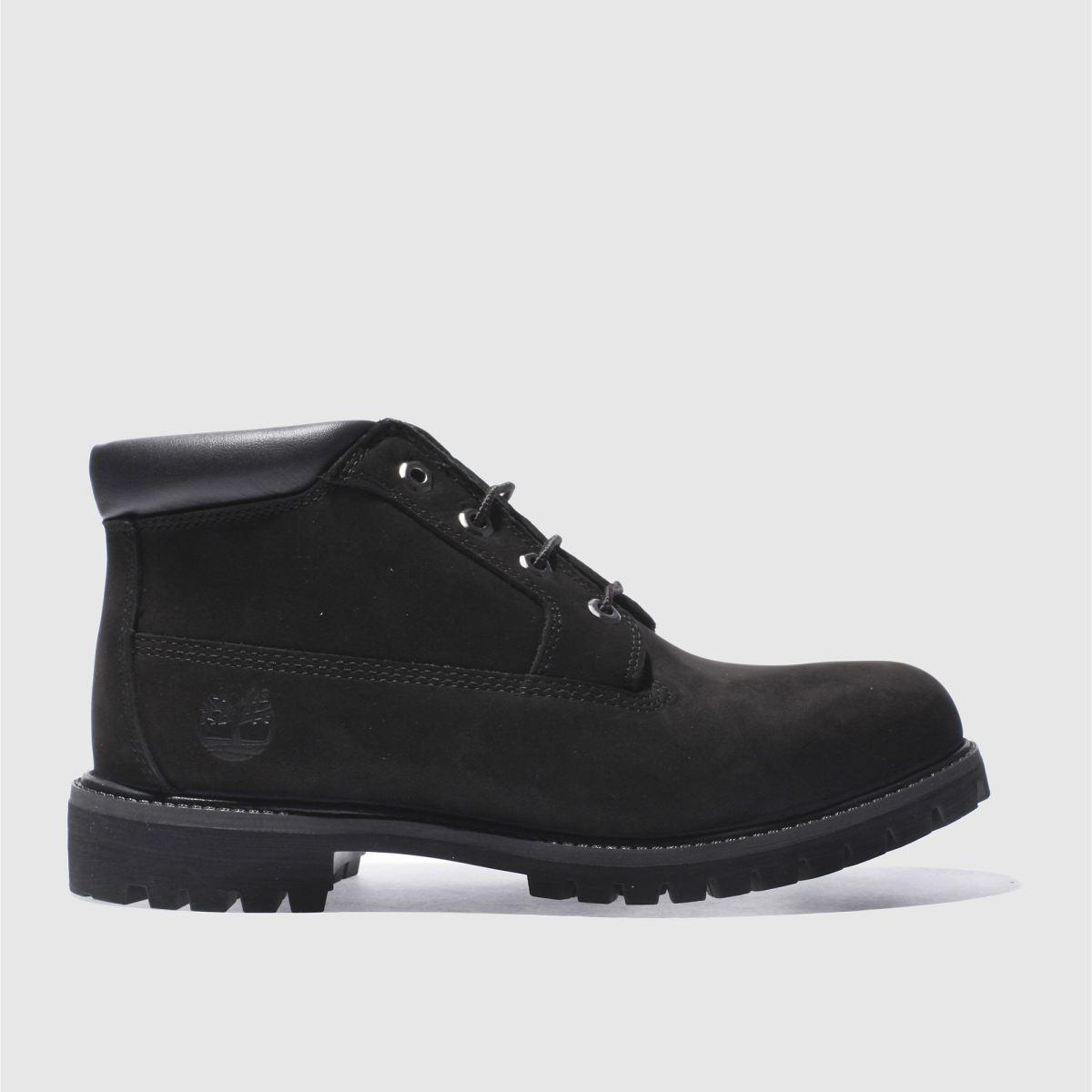 timberland black premium waterproof chukka boots