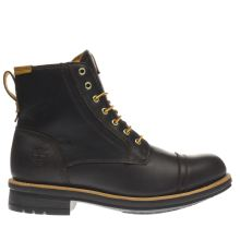 Timberland Dark Brown Westbank 6 Inch Mens Boots