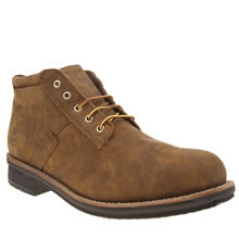 Timberland Tan Westbank Waterproof Chukka Mens Boots