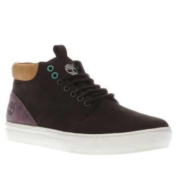 Timberland Black & Purple Adventure Cupsole Outdoor Mens Boots