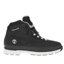 Timberland Black Euro Hiker Spacer Mens Boots