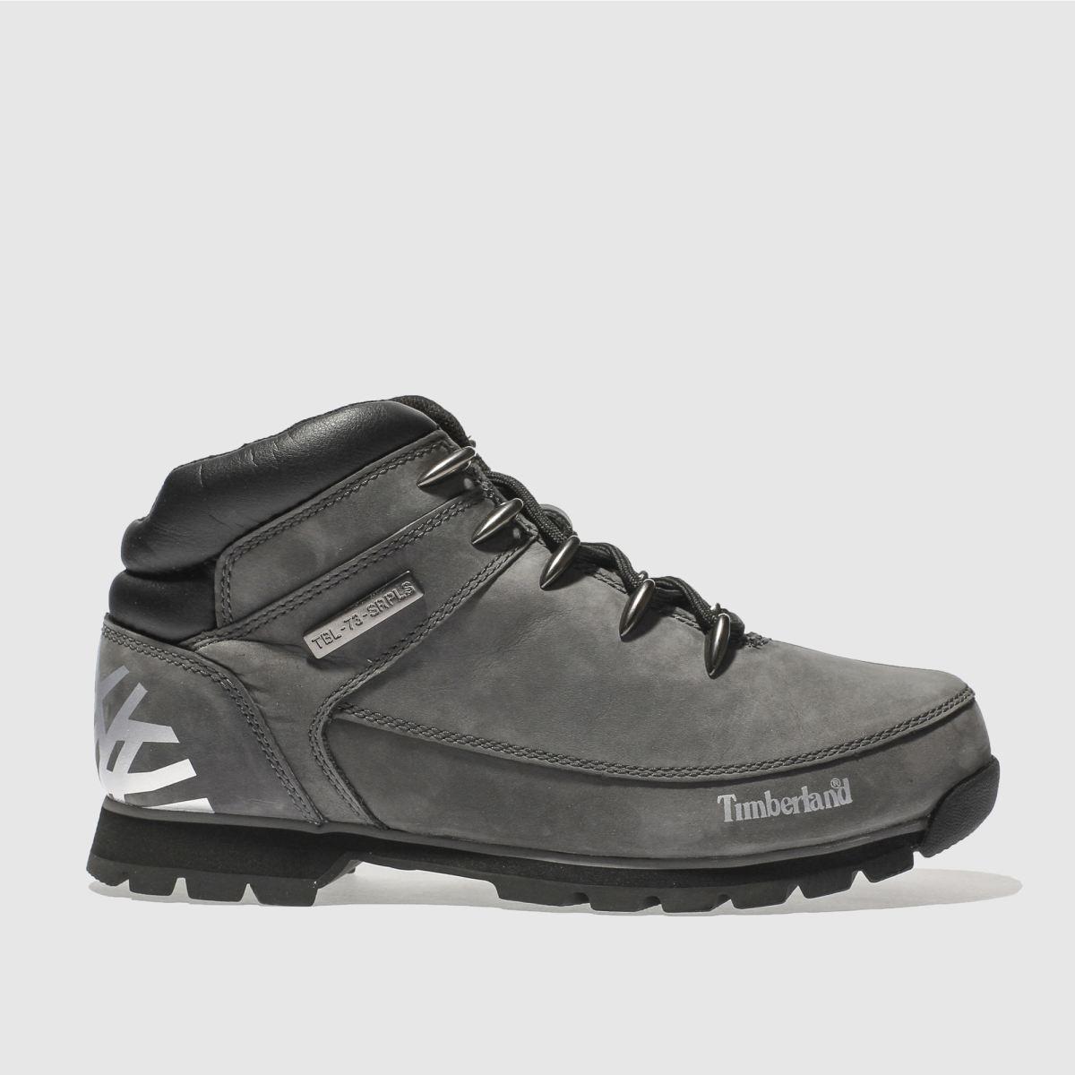 timberland grey euro sprint hiker boots