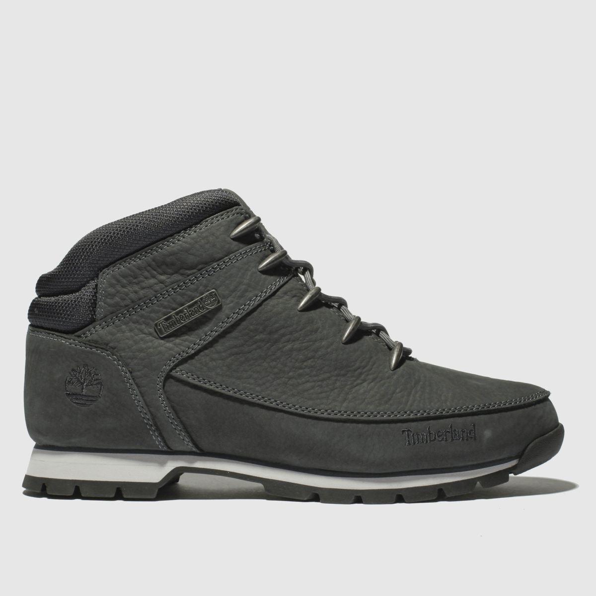 Timberland Dark Grey Euro Sprint Hiker Boots