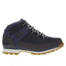 Timberland Black & Navy Euro Sprint Mens Boots