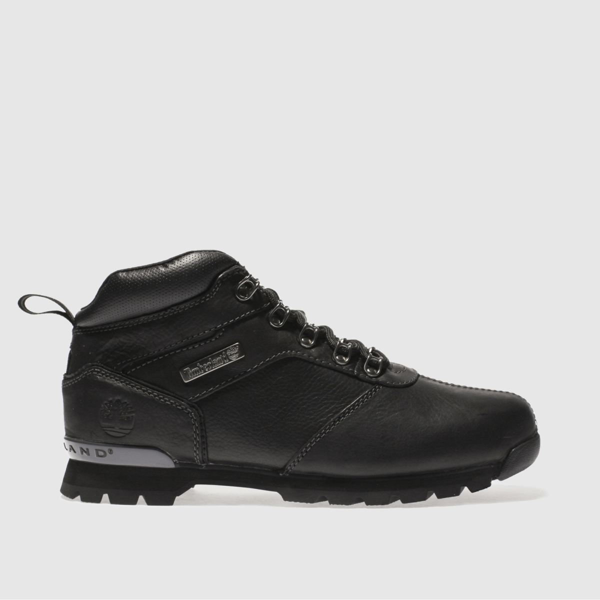 timberland black splitrock 2 hiker boots