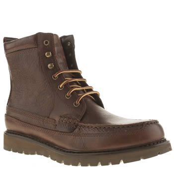 Polo Ralph Lauren Dark Brown Willingcott Apr Boots