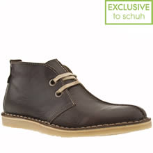 Dark Brown Red Or Dead Mr Briggs Dezzie Boot Ii