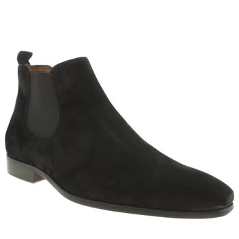 Mens Red Or Dead Black Mr Gibb Chelsea Boots